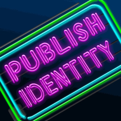 Publish identity sign
