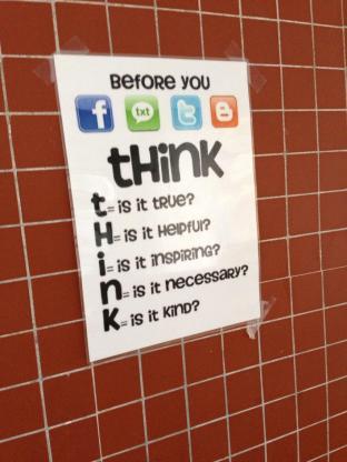 Social media think